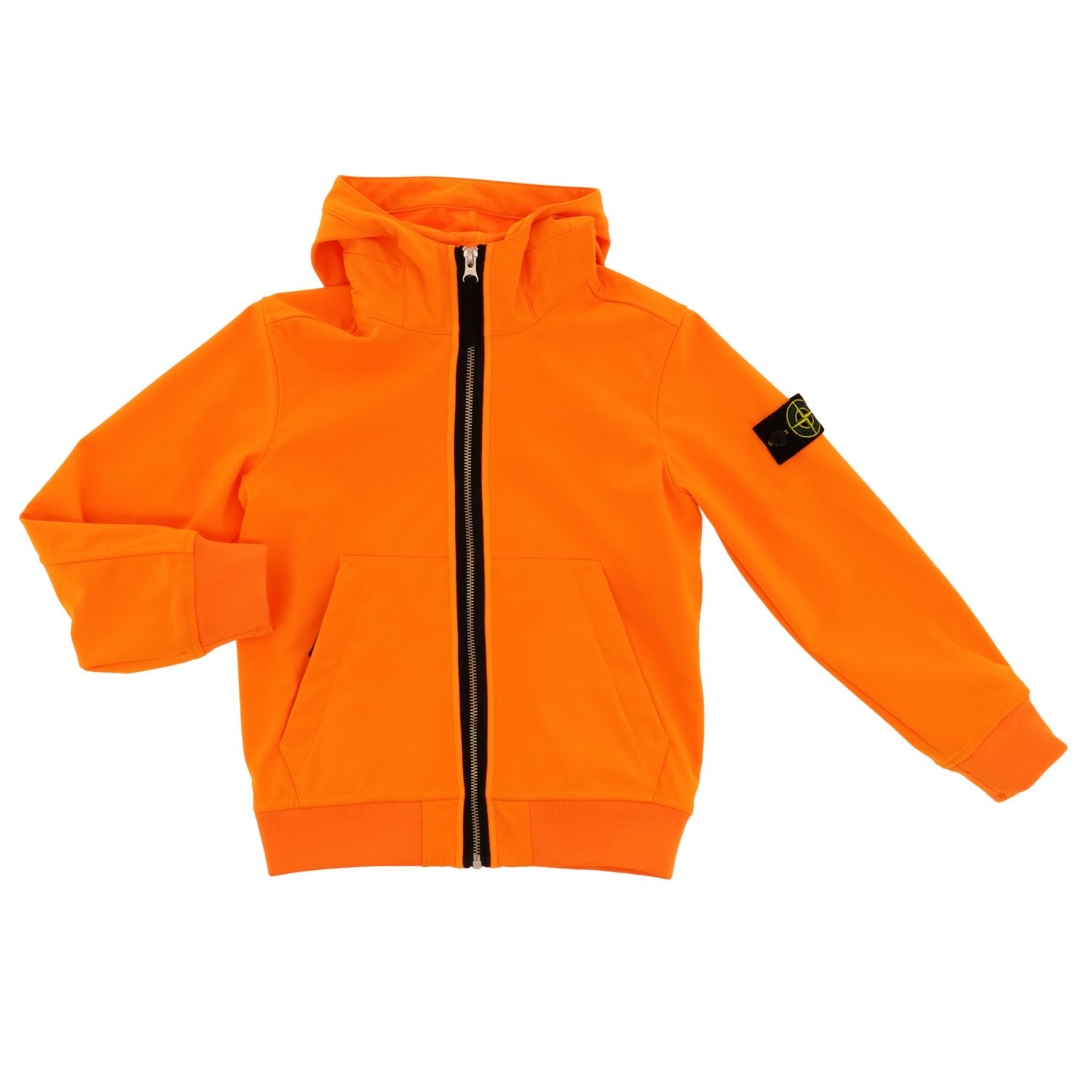 Jacket kids Stone Island orange 1