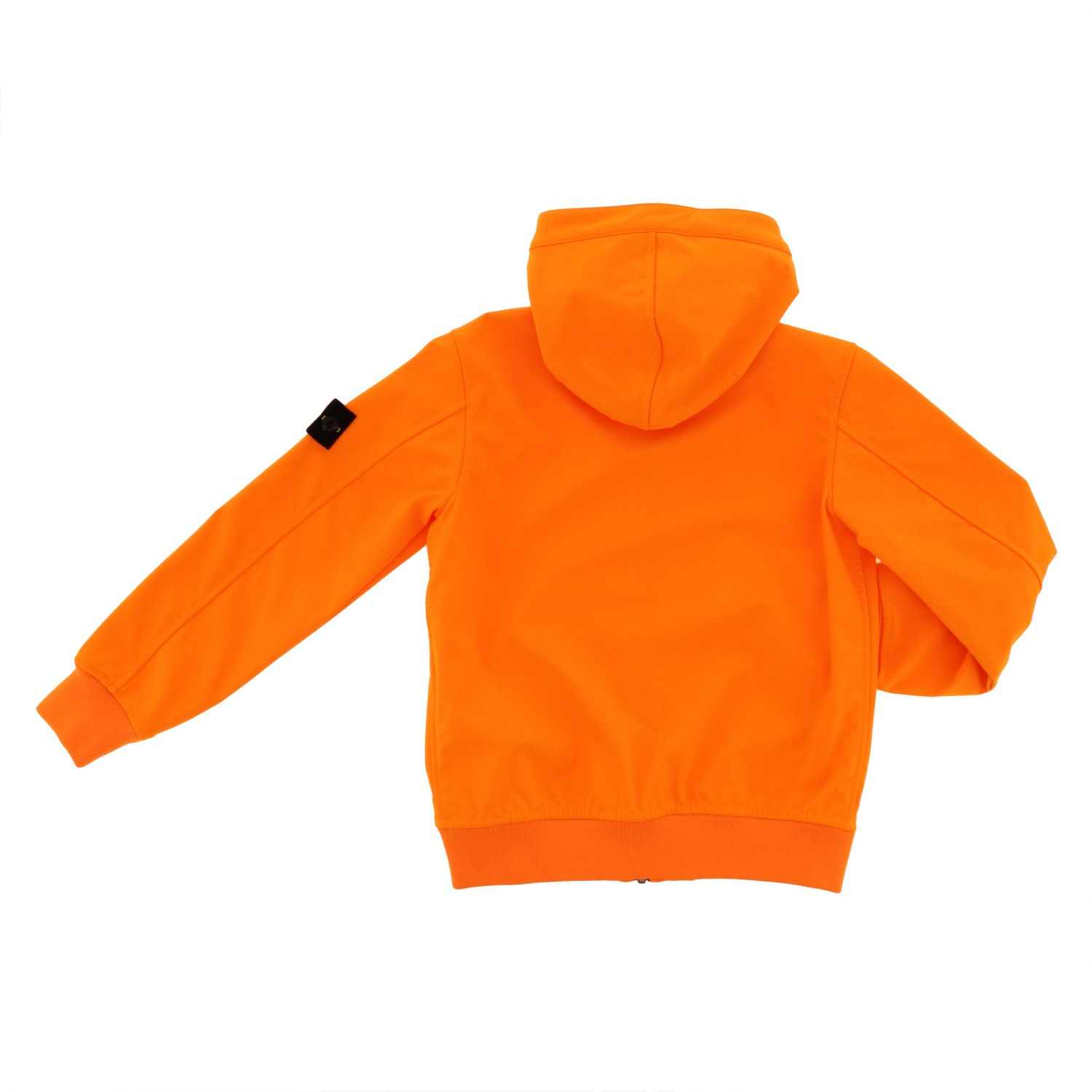 Jacket kids Stone Island orange 2