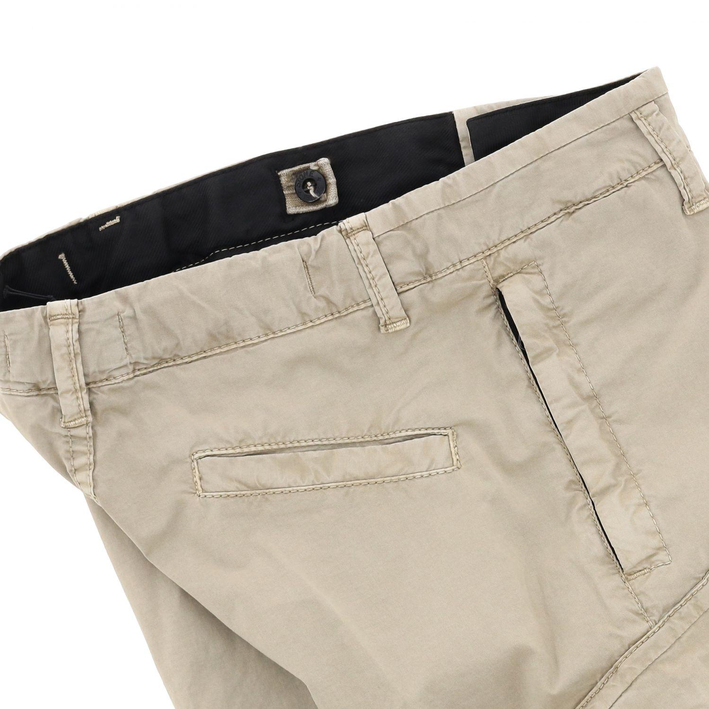 Pantaloncino Stone Island Junior con logo sabbia 3
