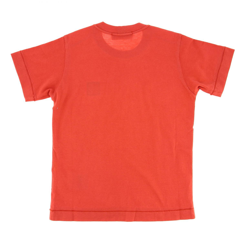 T-shirt kids Stone Island coral 2