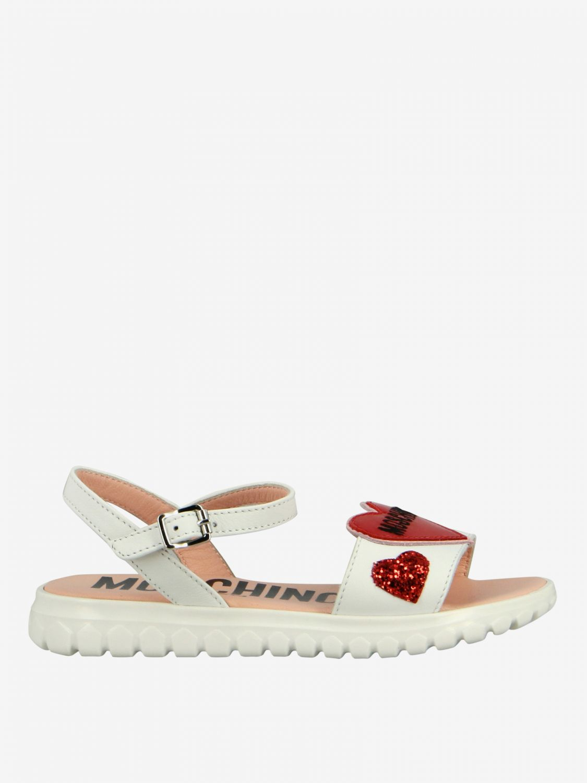 Shoes kids Moschino Teen white 1