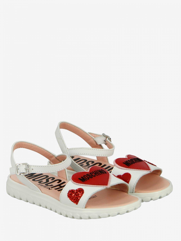 Shoes kids Moschino Teen white 2