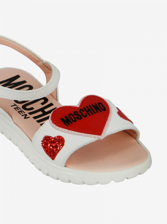 Shoes kids Moschino Teen white 4