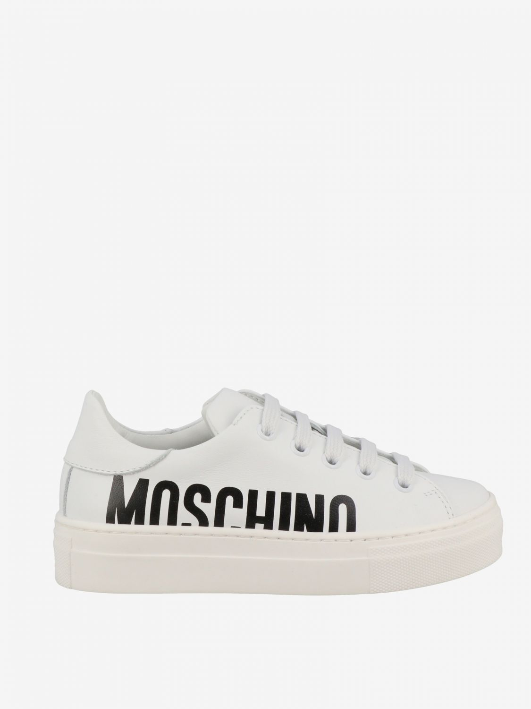 Shoes Moschino Teen 63712 Giglio EN