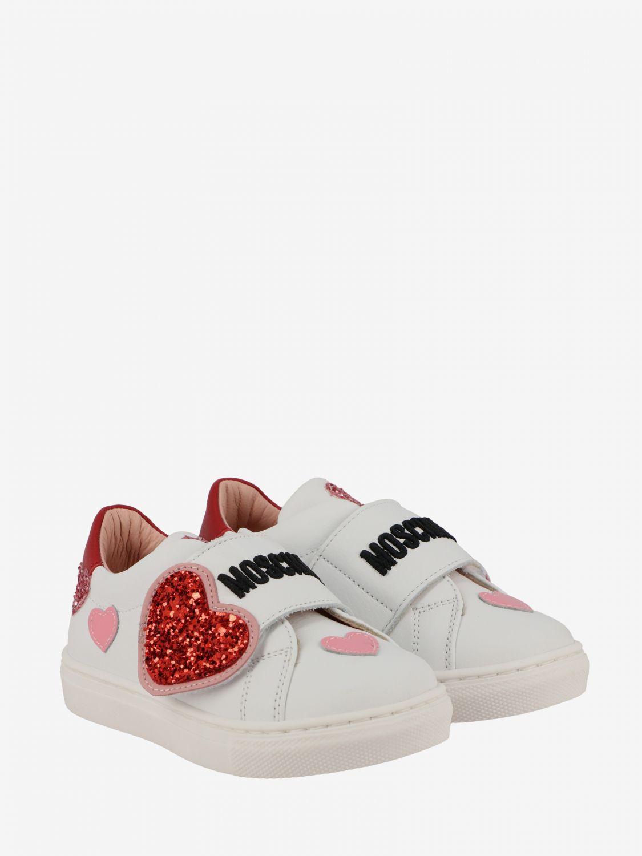 Shoes kids Moschino Baby white 2