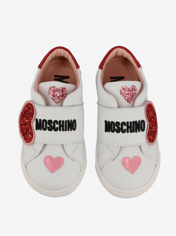 Shoes kids Moschino Baby white 3