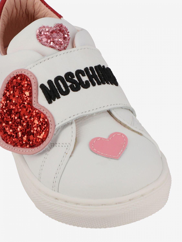 Shoes kids Moschino Baby white 4