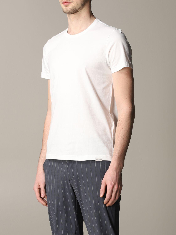 T-Shirt Brooksfield: T-shirt herren Brooksfield weiß 4
