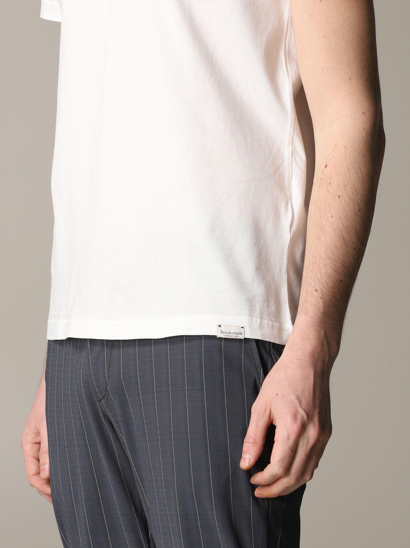 T-Shirt Brooksfield: T-shirt herren Brooksfield weiß 5