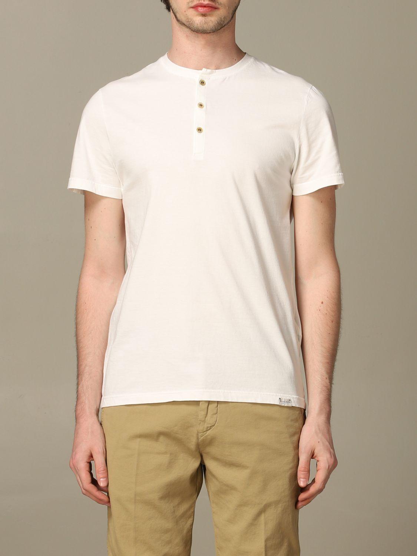 T-Shirt Brooksfield: T-shirt herren Brooksfield weiß 1