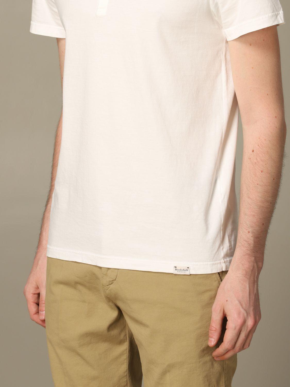 T-Shirt Brooksfield: T-shirt herren Brooksfield weiß 3