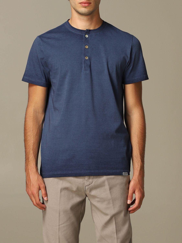 T-Shirt Brooksfield: T-shirt herren Brooksfield blau 1