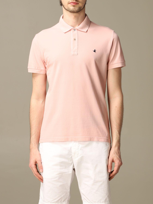 Polo shirt Brooksfield: T-shirt men Brooksfield pink 1
