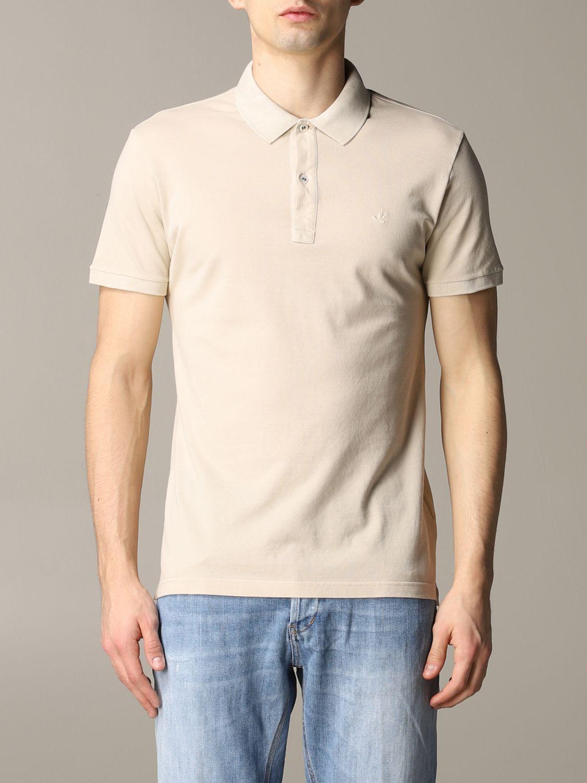Polo shirt Brooksfield: T-shirt men Brooksfield beige 1
