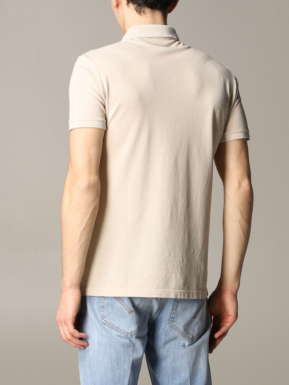 Polo shirt Brooksfield: T-shirt men Brooksfield beige 2
