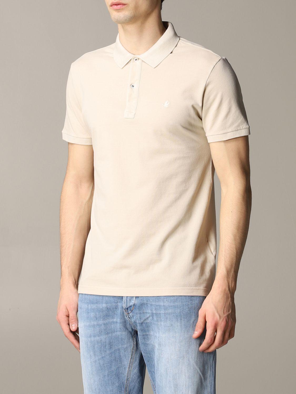 Polo shirt Brooksfield: T-shirt men Brooksfield beige 3