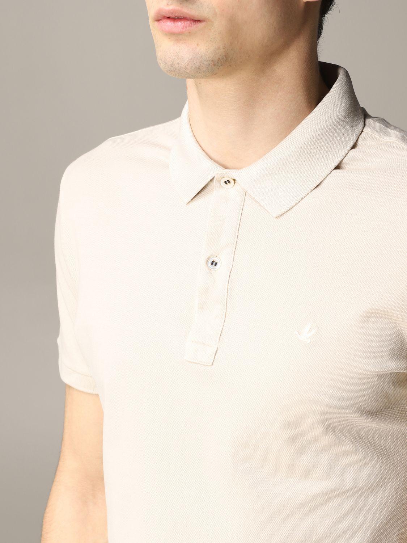 Polo shirt Brooksfield: T-shirt men Brooksfield beige 4
