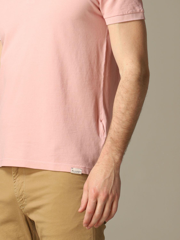 T-shirt Brooksfield: T-shirt men Brooksfield pink 3