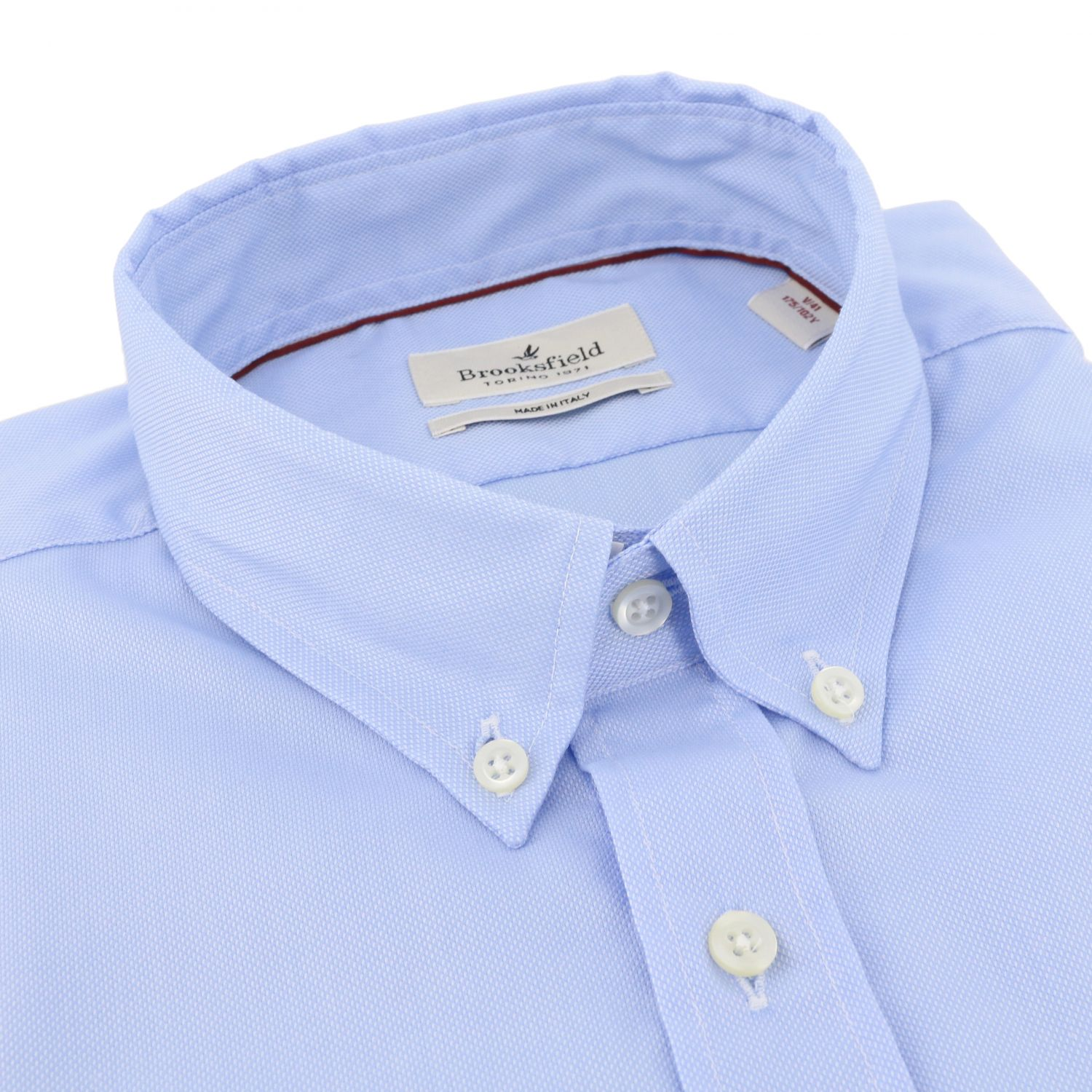 Shirt Brooksfield: Shirt men Brooksfield gnawed blue 2