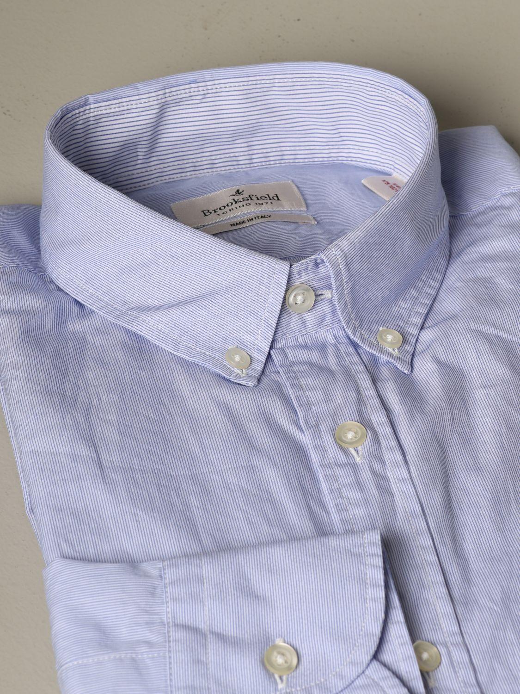 Рубашка Мужское Brooksfield голубой 2