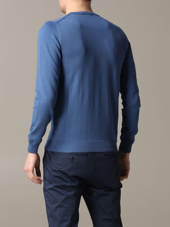 Sweater Brooksfield: Sweater men Brooksfield gnawed blue 3