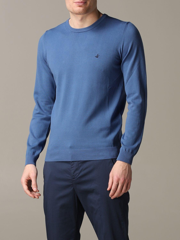 Sweater Brooksfield: Sweater men Brooksfield gnawed blue 4