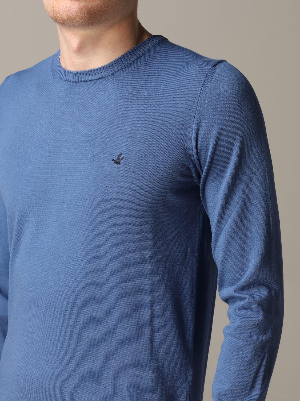 Sweater Brooksfield: Sweater men Brooksfield gnawed blue 5