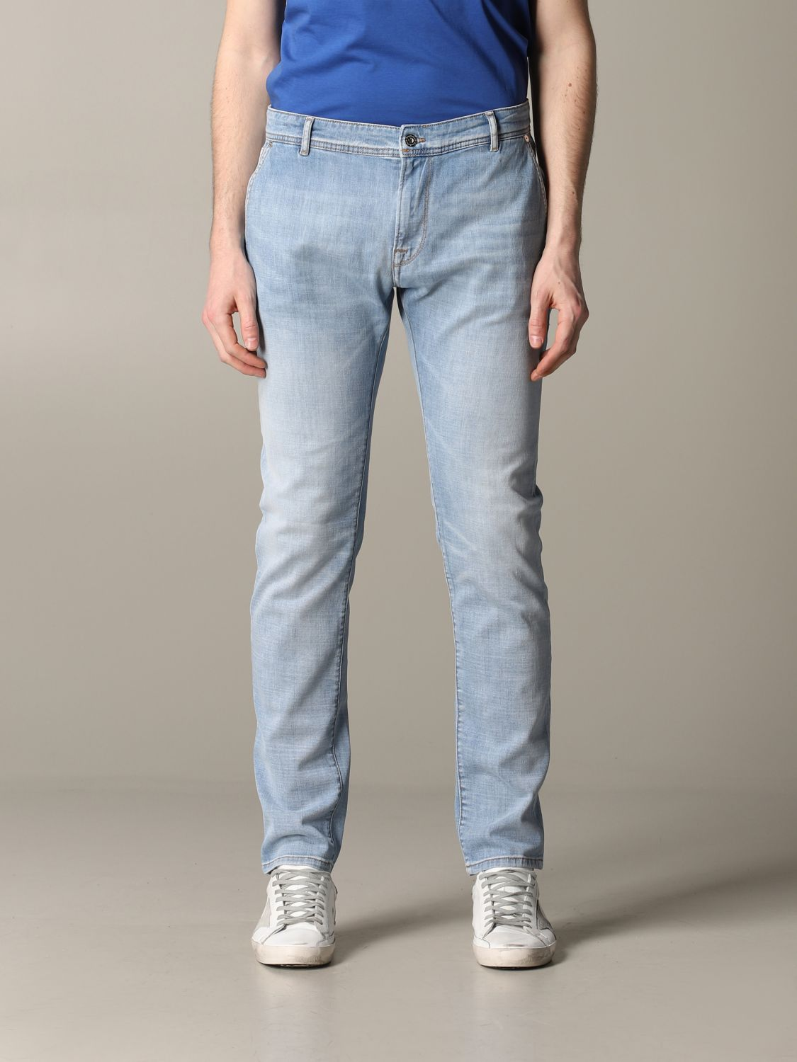 Jeans Brooksfield: Jeans herren Brooksfield stone washed 1