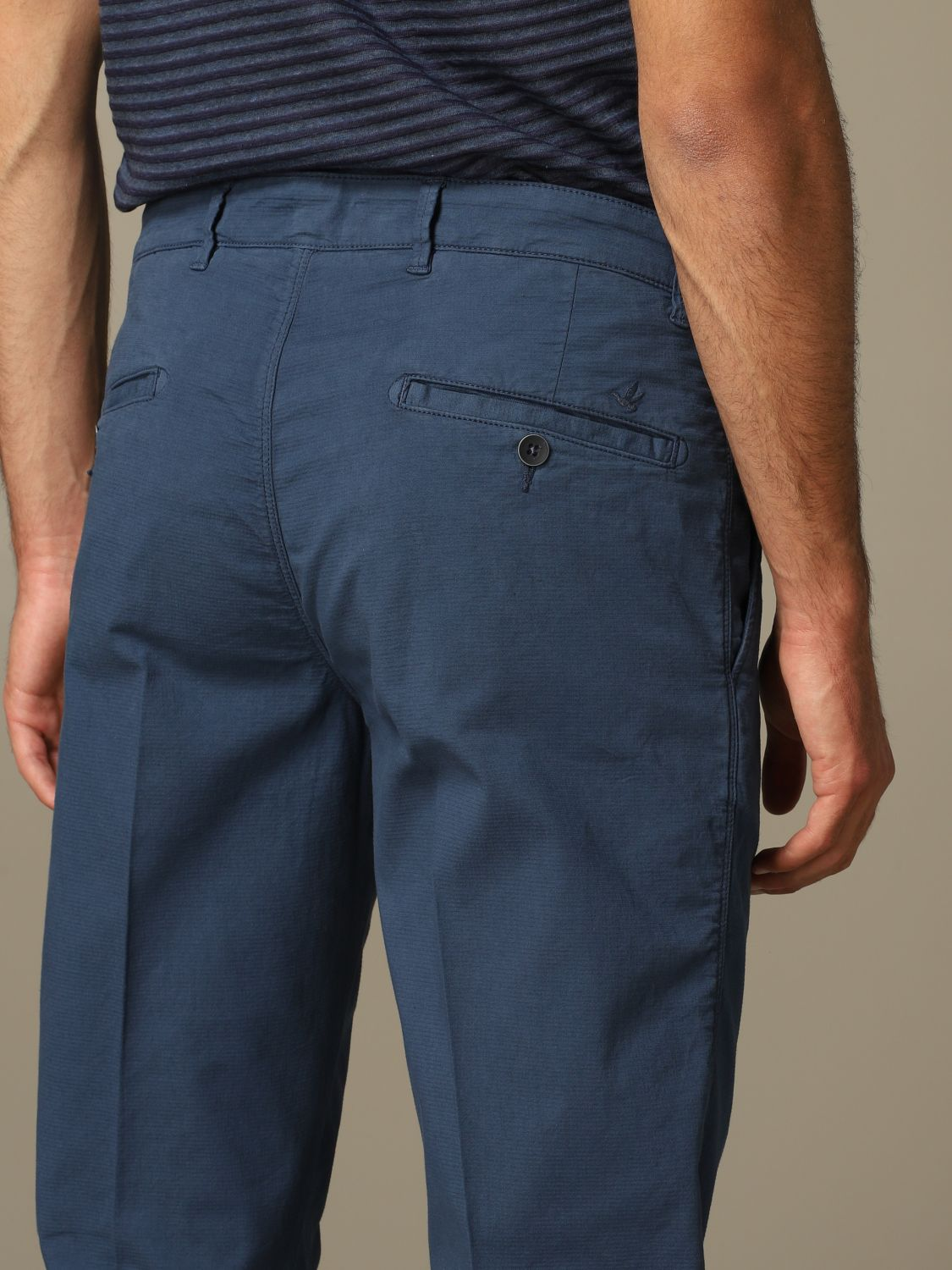 Hose Brooksfield: Hose herren Brooksfield blau 3
