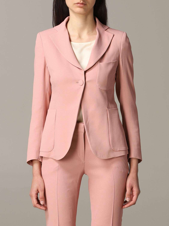 Blazer women L'autre Chose blush pink 1
