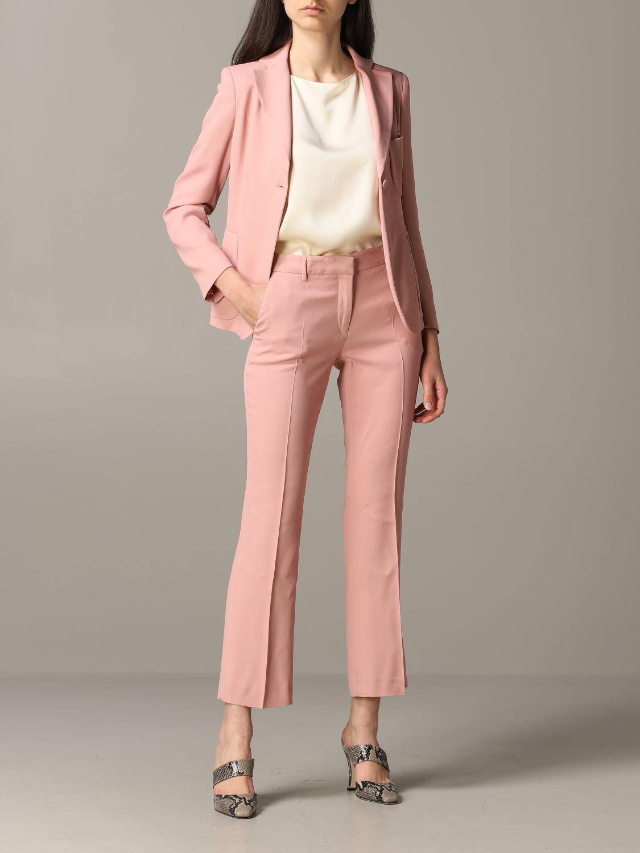 Blazer women L'autre Chose blush pink 2