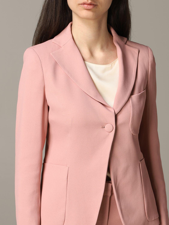 Blazer women L'autre Chose blush pink 5