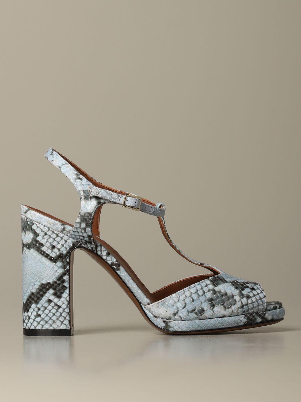High heel shoes L'autre Chose: Shoes women L'autre Chose gnawed blue 1