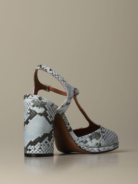 High heel shoes L'autre Chose: Shoes women L'autre Chose gnawed blue 3