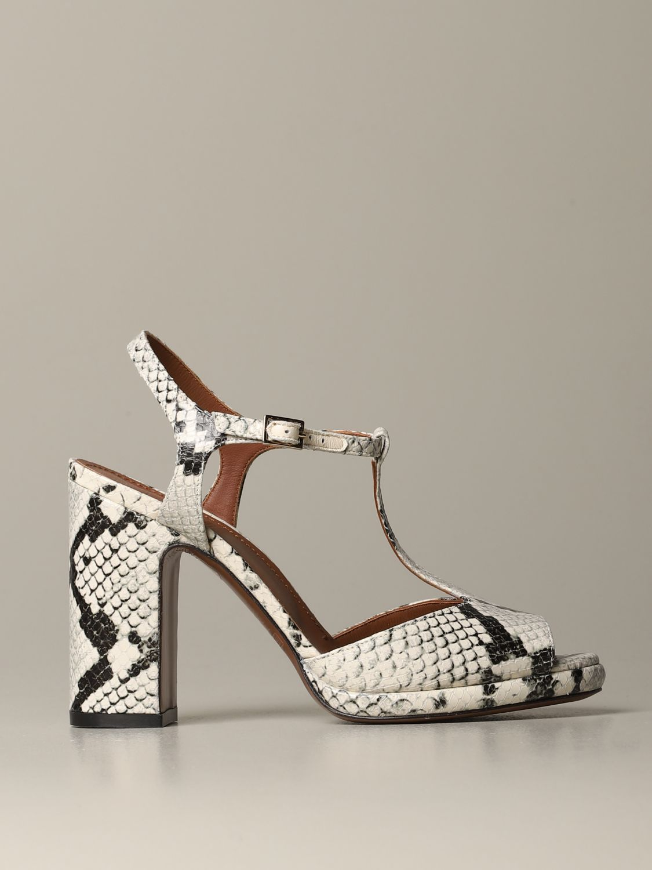 High heel shoes L'autre Chose: Shoes women L'autre Chose yellow cream 1