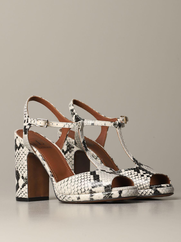 High heel shoes L'autre Chose: Shoes women L'autre Chose yellow cream 2