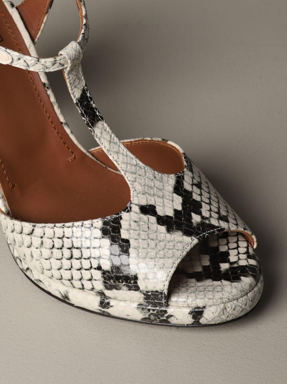 High heel shoes L'autre Chose: Shoes women L'autre Chose yellow cream 3