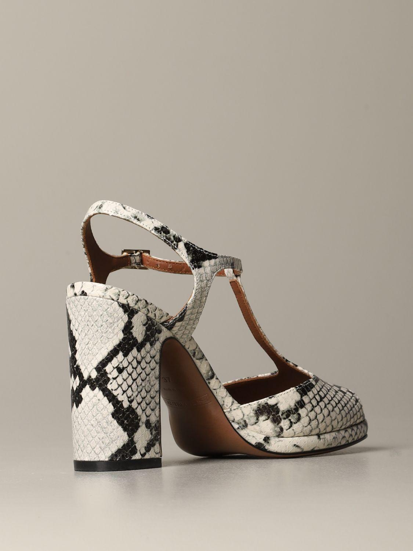 High heel shoes L'autre Chose: Shoes women L'autre Chose yellow cream 4