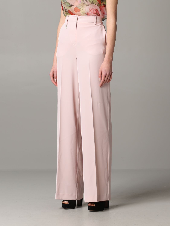 Trousers Blumarine: Trousers women Blumarine blush pink 4