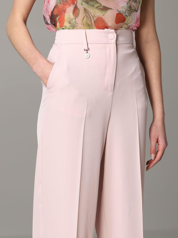 Trousers Blumarine: Trousers women Blumarine blush pink 5