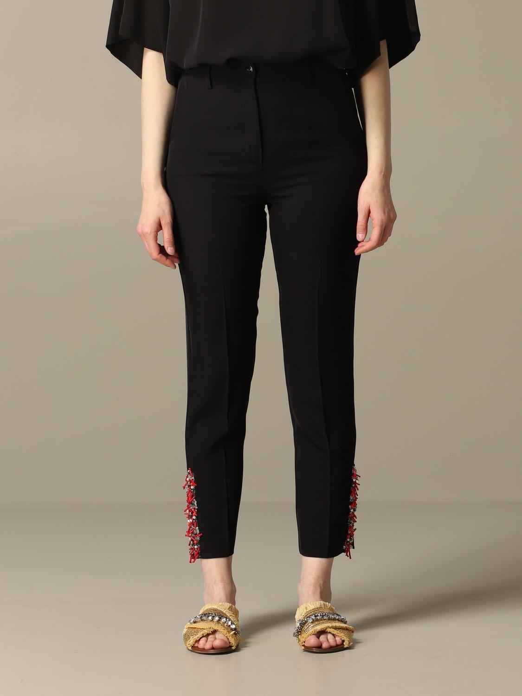 Trousers Blumarine: Trousers women Blumarine black 1