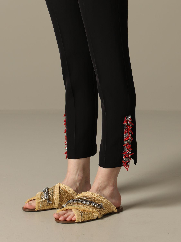 Trousers Blumarine: Trousers women Blumarine black 3