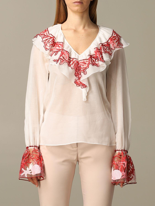 Shirt Blumarine: Top women Blumarine white 1