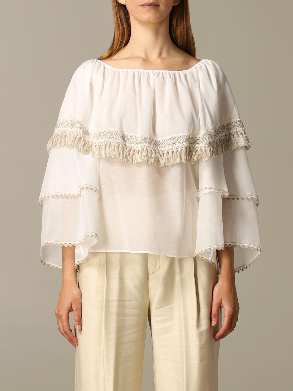Shirt Blumarine: Top women Blumarine natural 1