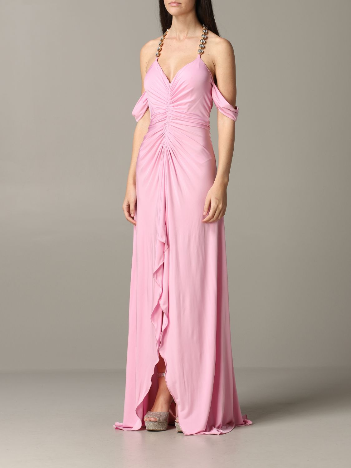 Dress Blumarine: Dress women Blumarine pink 3