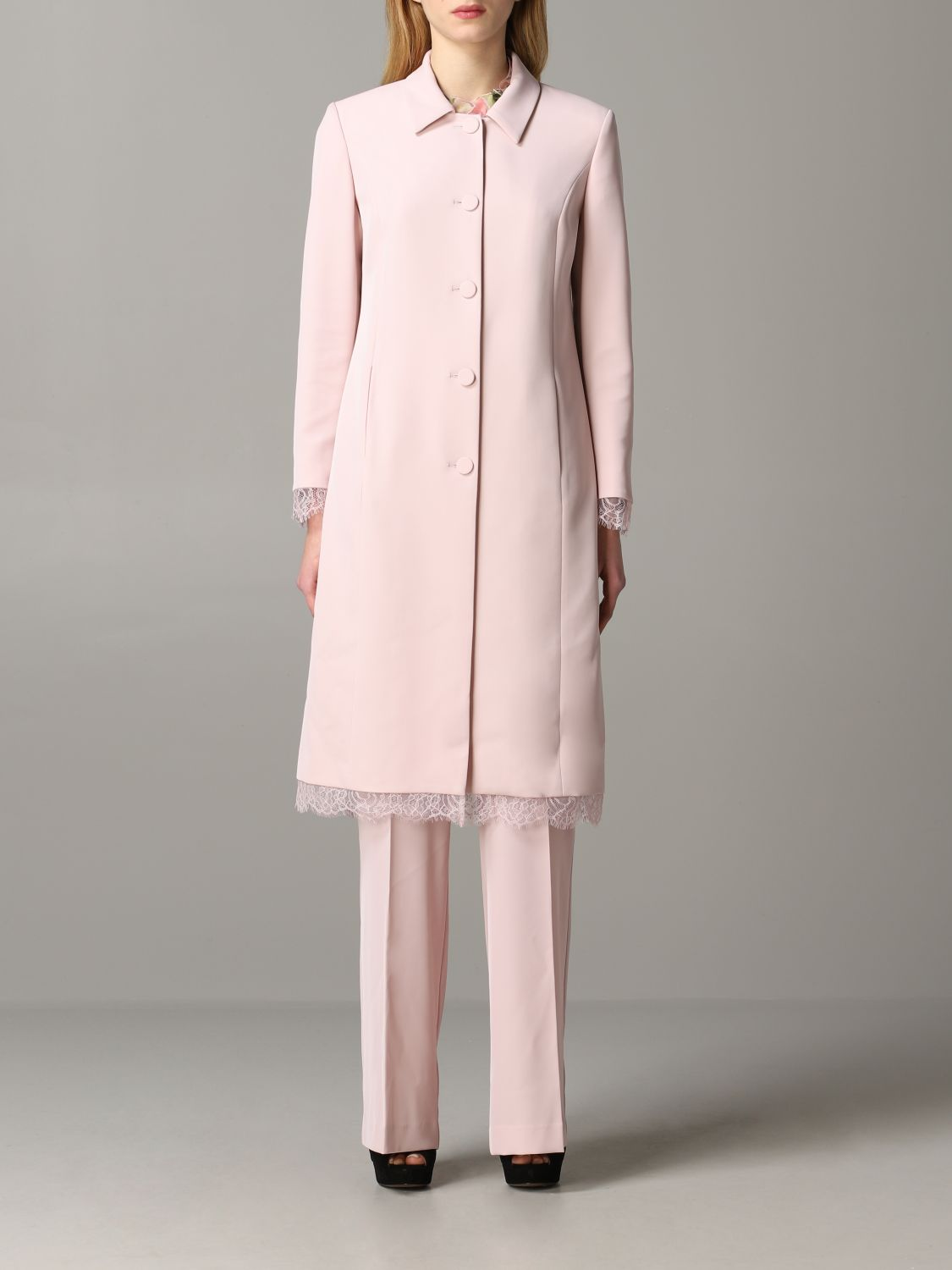 Coat Blumarine: Coat women Blumarine blush pink 1