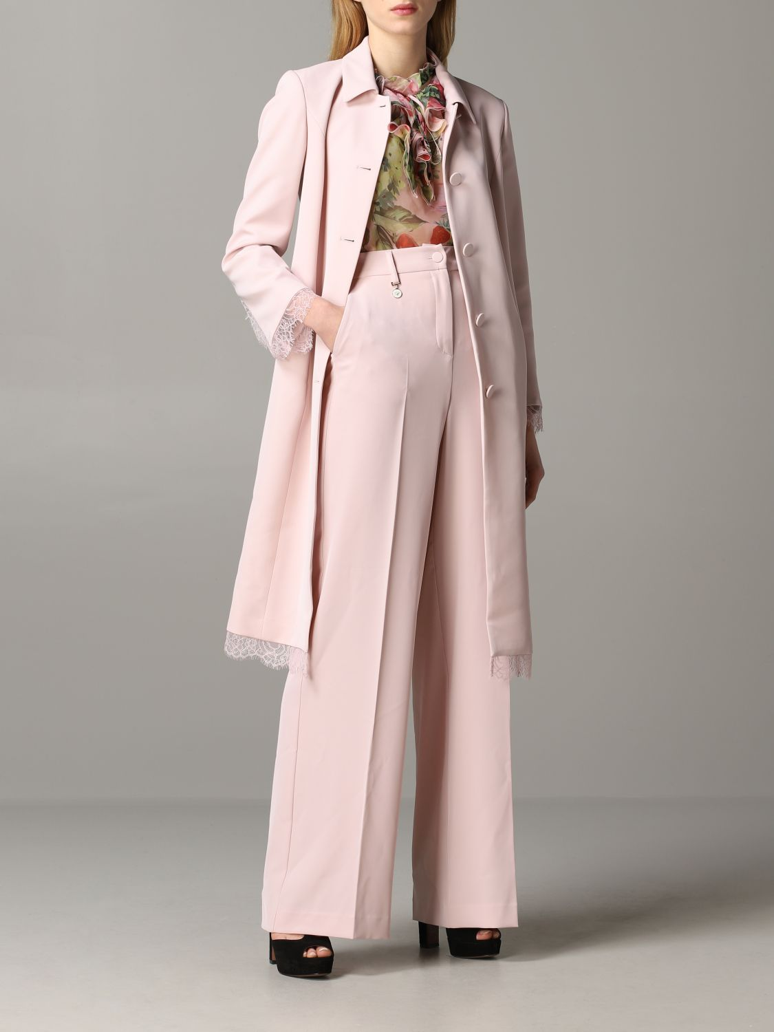 Coat Blumarine: Coat women Blumarine blush pink 2