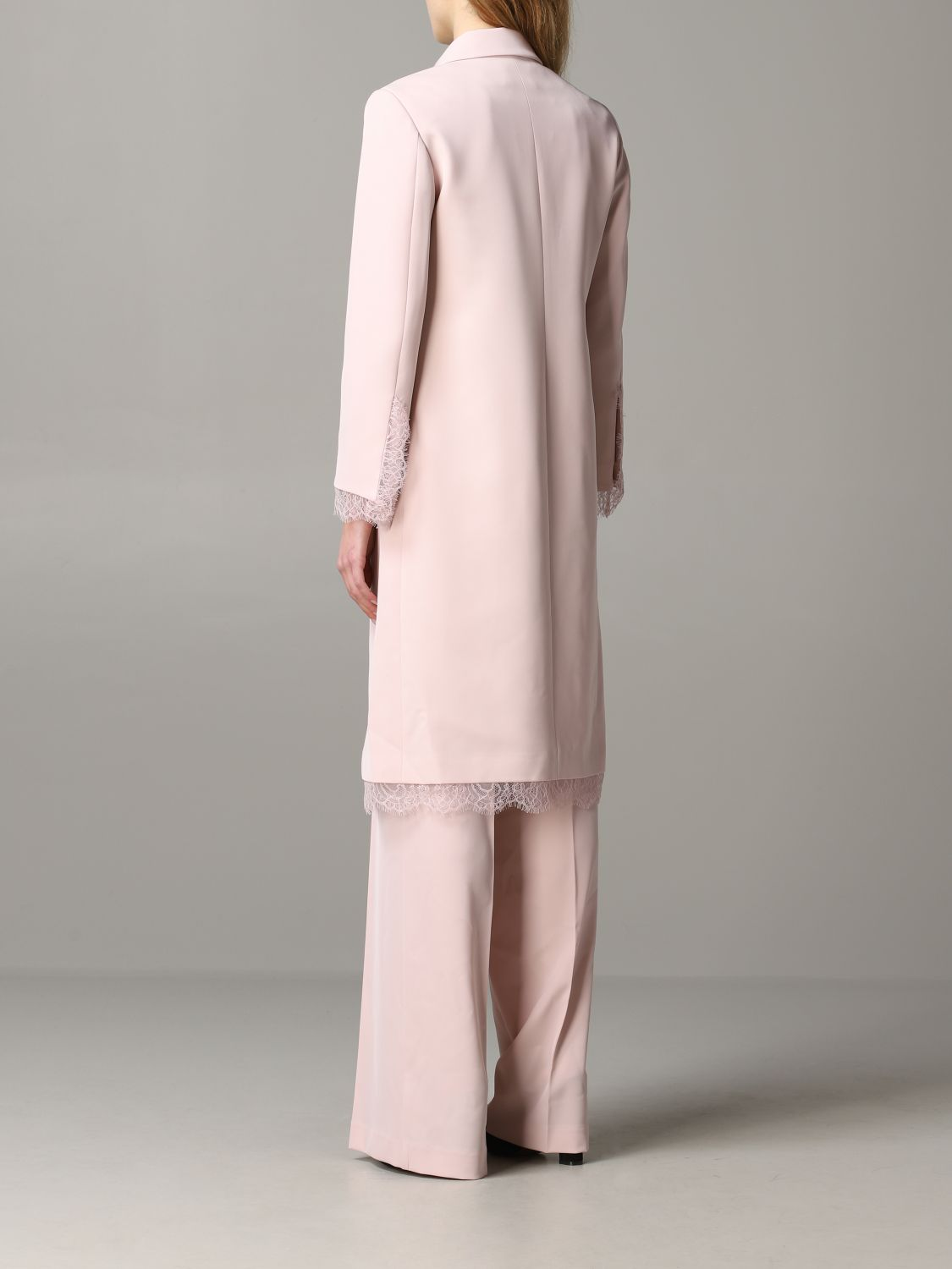 Coat Blumarine: Coat women Blumarine blush pink 3