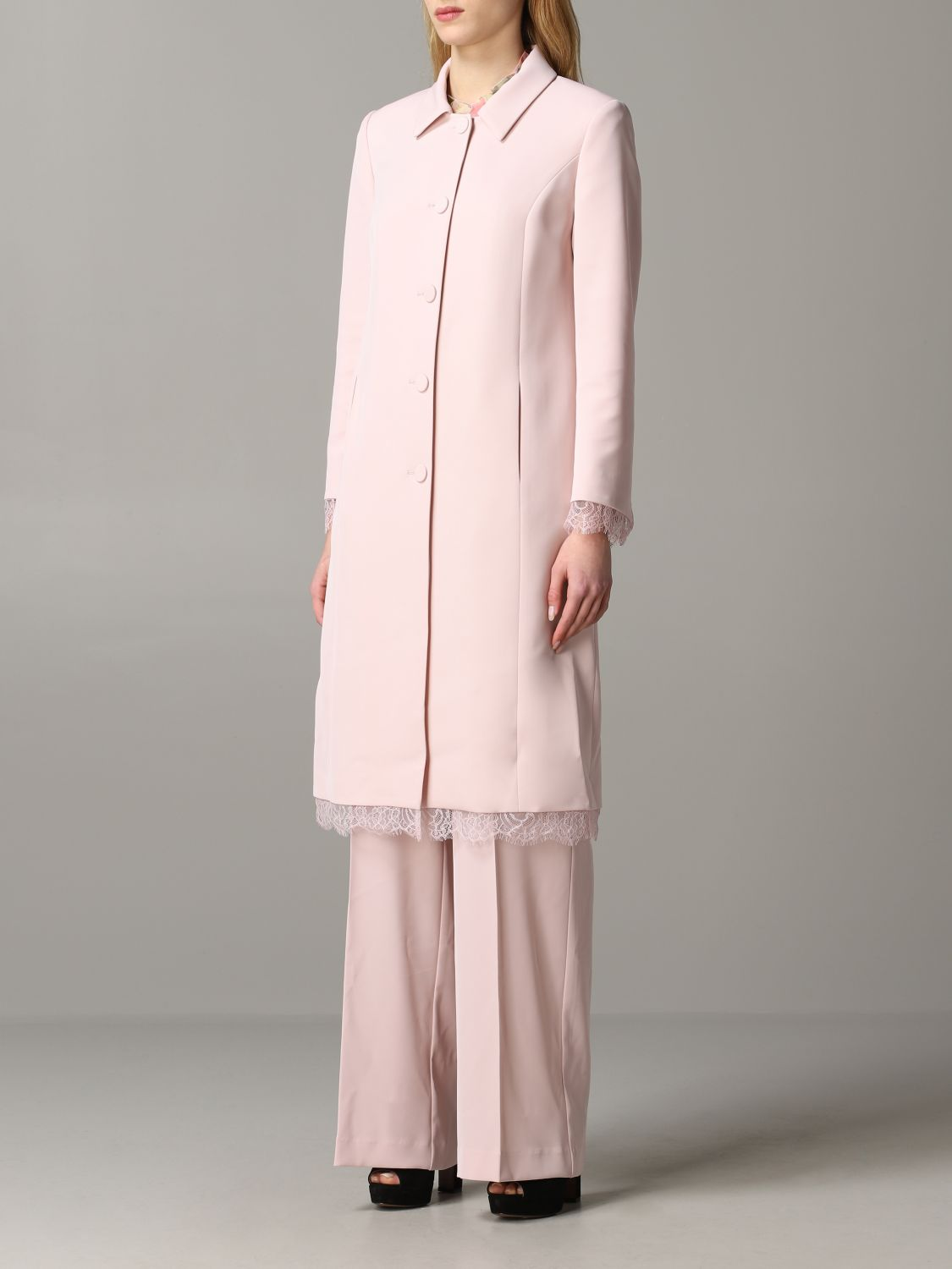 Coat Blumarine: Coat women Blumarine blush pink 4
