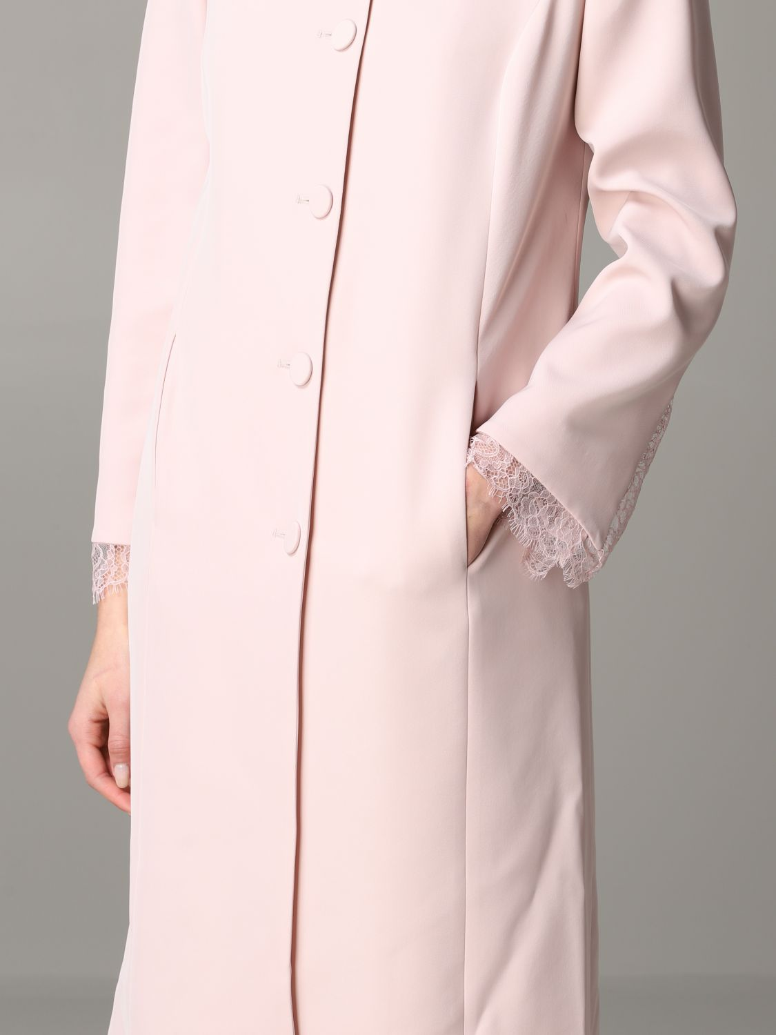 Coat Blumarine: Coat women Blumarine blush pink 5